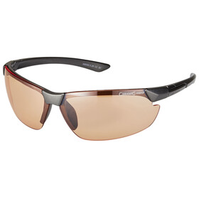 Alpina Draff Brille anthracite/orange mirror